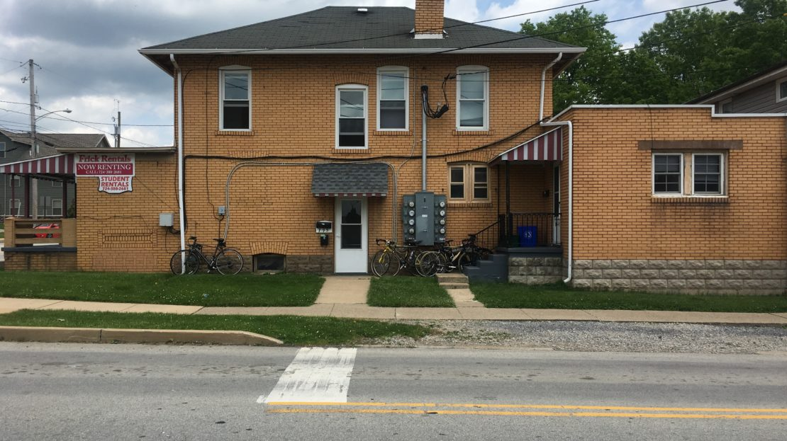 IUP Off Campus Student Housing 793 Maple Street Apt A Indiana PA 15701