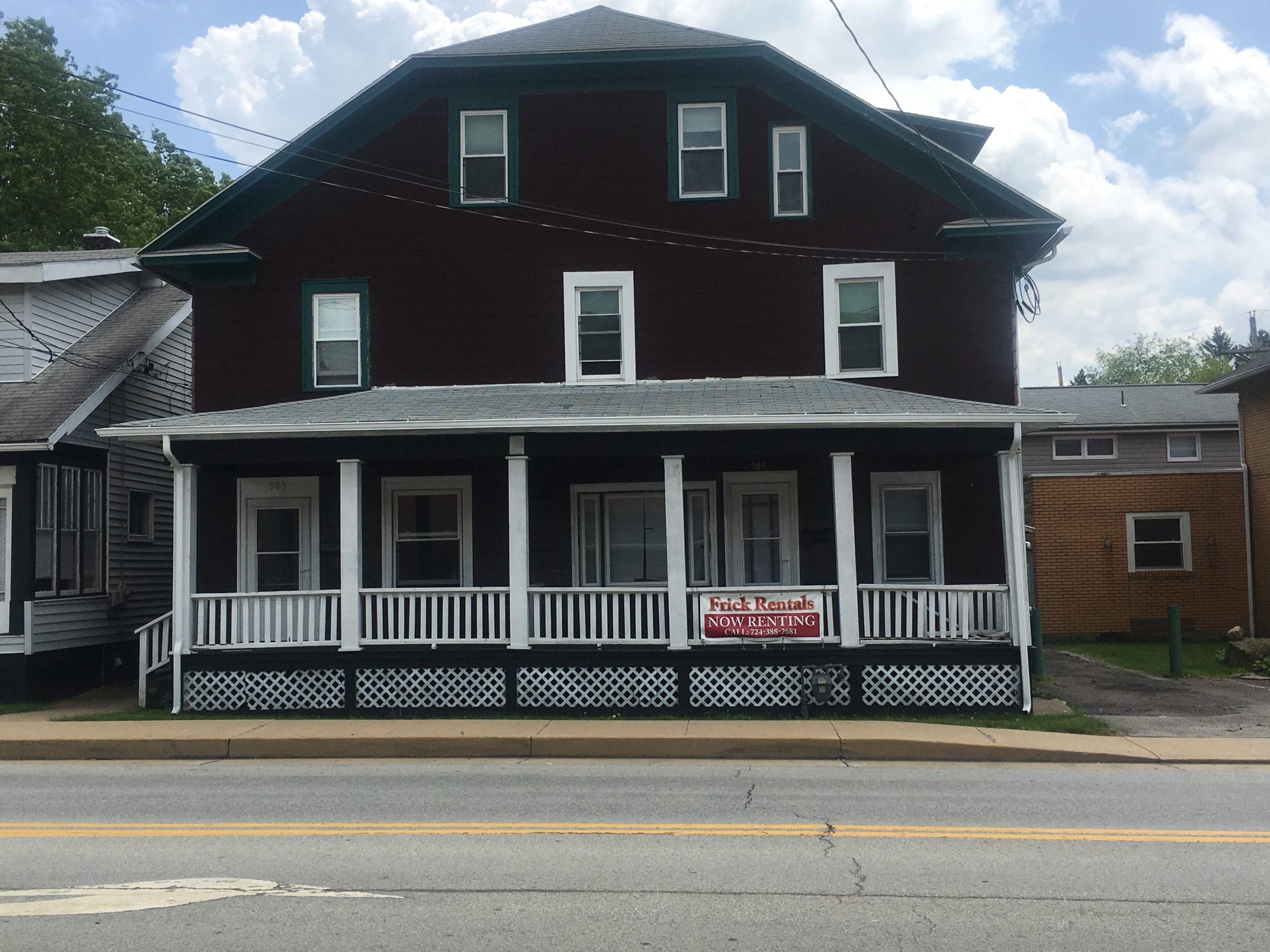 983 Wayne Avenue Frick Rentals